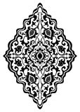 Floral medallion for design. Stock Photography