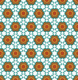 Floral medieval pattern Royalty Free Stock Image