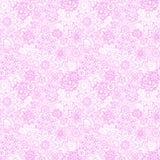 Floral mehendi hand drawn seamless pattern. Stock Photo