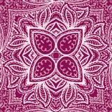 Floral mehendi pattern ornament vector illustration hand drawn henna mhendi pattern india tribal paisley background Stock Photography