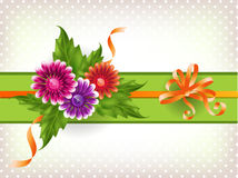 Floral mesh background Royalty Free Stock Photography