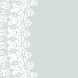 Floral Modern Vector Frame Royalty Free Stock Photo