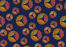 Floral motif. Abstract Floral Seamless Vector Background Texture. Floral texture.seamless pattern。Abstract seamless pattern with leaves Royalty Free Stock Photo