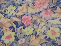 Floral motif cloth Stock Image