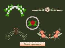 Floral motif Stock Image