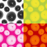 Floral motif pattern Royalty Free Stock Images