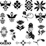 floral motifs05 Stock Images