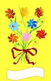 Floral motive Stock Photos