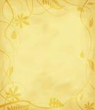 Floral mottled paper Stock Image