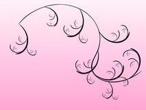 Floral na cor-de-rosa Fotografia de Stock