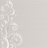 Floral. Neutral floral background  - vector illustration Royalty Free Stock Image