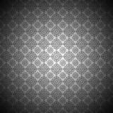 Floral noir et blanc de luxe Image stock