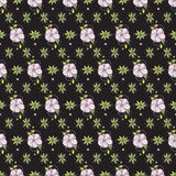 Floral non-seamless pattern background Royalty Free Stock Images