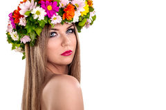 Floral nymph Stock Photography