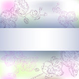 Floral orchid background Royalty Free Stock Photography
