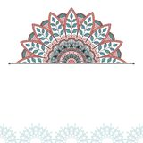 Floral oriental pattern. Royalty Free Stock Images