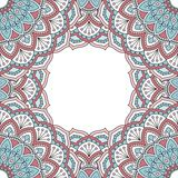 Floral oriental pattern Stock Images