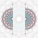 Floral oriental pattern Stock Photography