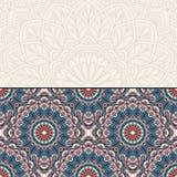 Floral oriental pattern Stock Photos