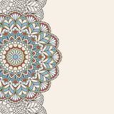 Floral oriental pattern. Stock Photography