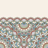 Floral oriental pattern. Stock Images