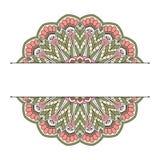 Floral oriental pattern. Stock Photos