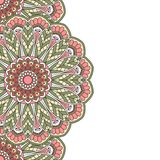 Floral oriental pattern. Royalty Free Stock Photography