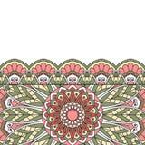 Floral oriental pattern. Stock Photo
