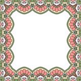 Floral oriental pattern. Royalty Free Stock Photos