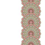 Floral oriental pattern. Royalty Free Stock Image