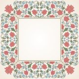 Floral oriental pattern in vintage style Royalty Free Stock Photography