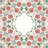 Floral oriental pattern in vintage style Royalty Free Stock Image