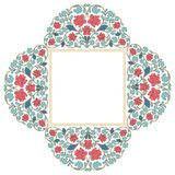 Floral oriental pattern in vintage style Royalty Free Stock Photos