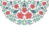 Floral oriental pattern in vintage style Stock Photo