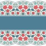 Floral oriental pattern in vintage style Royalty Free Stock Images