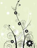 Floral ornament stock illustration