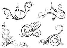 Цветочный орнамент Stock Images