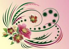 Floral ornament Stock Photos