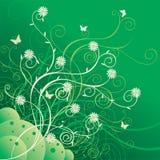 Floral ornament. Decorative spring style illustration Stock Image