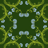 Floral ornament Royalty Free Stock Images