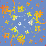 Floral ornament. That can be used as a texture. Vector vector illustration
