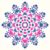Floral ornament. Vector ornament In flower style Royalty Free Stock Photography