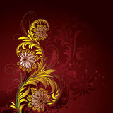 Floral ornament Stock Image