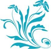 Floral ornament. Element for design stock illustration