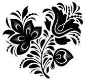 Floral ornament. Element for design, vector illustration Royalty Free Stock Images
