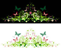Floral ornament royalty free illustration
