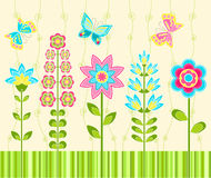 Floral ornament. Background. Royalty Free Stock Photos