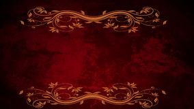 Floral Ornament Background stock video