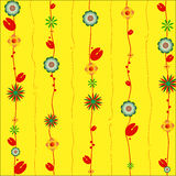 Floral ornament design Stock Photo