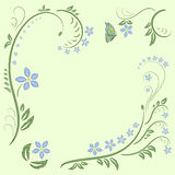 Floral ornament design vector illustration